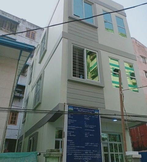 Three-Story Building in Kamayut