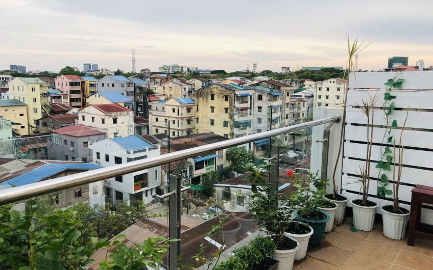 One-Bedroom Penthouse in Bahan